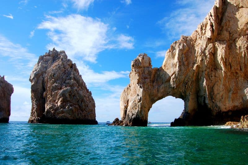 The rocks at Cabo San Lucas
