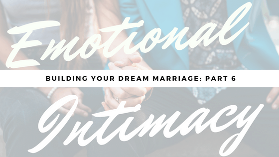 emotional intimacy with wife