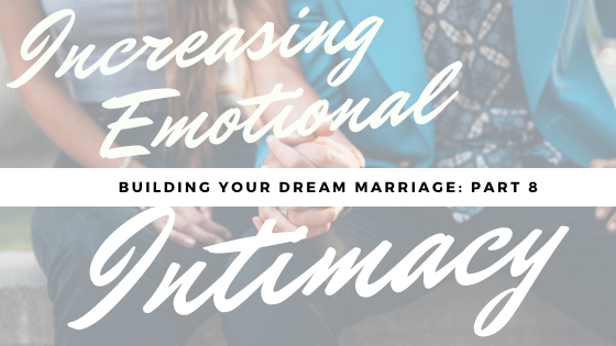 increasing emotional intimacy